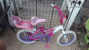 Care bear, Hello kitty, Princess bike for Sale in Oceanside, CA
