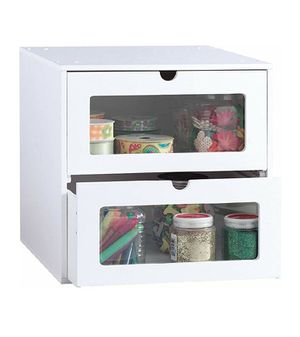 Arts & Crafts Storage Cube w/ Clear Front Panels for Sale in San Diego, CA
