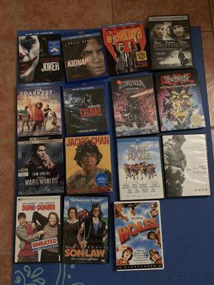 Movie bundle sets for Sale in Hemet, CA