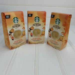Starbucks Pumpkin Spice Latte Lot Of 3 for Sale in Annandale, VA