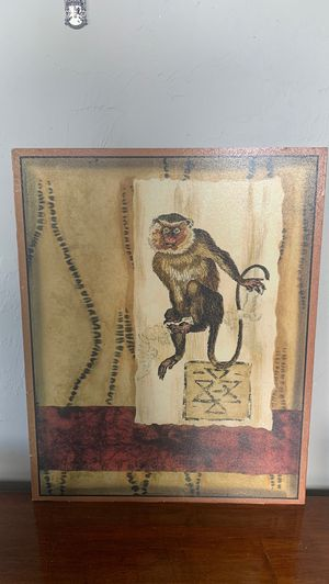 Vintage monkey painting for Sale in Cape Coral, FL