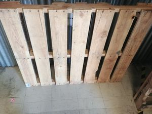Wood pallets decent size, asking 50 for both in good condition for Sale in Hollins, VA