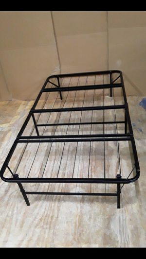 Folding twin bed frame for Sale in North Providence, RI