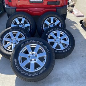 Wheels For Jeep Size 18 for Sale in Chula Vista, CA