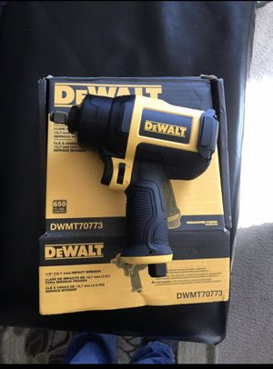 1/2 in. Heavy-Duty Pneumatic Impact Wrench for Sale in San Jose, CA