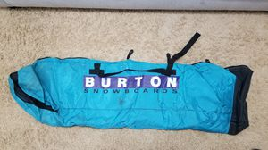 Burton Snowboards Padded Board Bag (vtg '89 / '90) for Sale in Frederick, MD