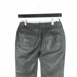 Gucci leather pants size 2 for Sale in Portland, OR