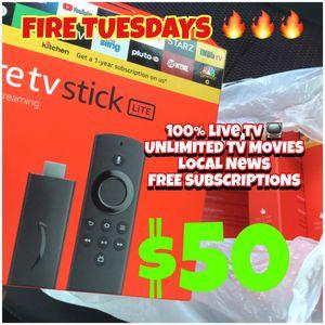 FREE TV! FIRE STICK 🔥 IPHONE IPAD mini MACBOOK PRO AMAZON for Sale in Wilmington, DE