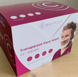 ClearMask Transparent Face Mask 24 Pieces for Sale in New York,  NY