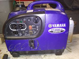 Yamaha 1000 inverter generator for Sale in Salt Lake City, UT