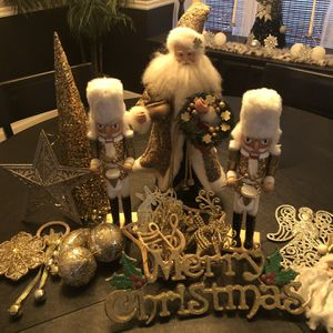 Gold Christmas Decorations Lot for Sale in Buffalo, NY