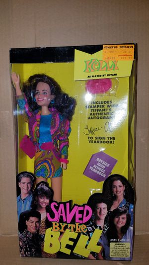 Saved by the Bell Kelly Kapowski tiger toys figure NIB Bayside for Sale in Moorpark, CA