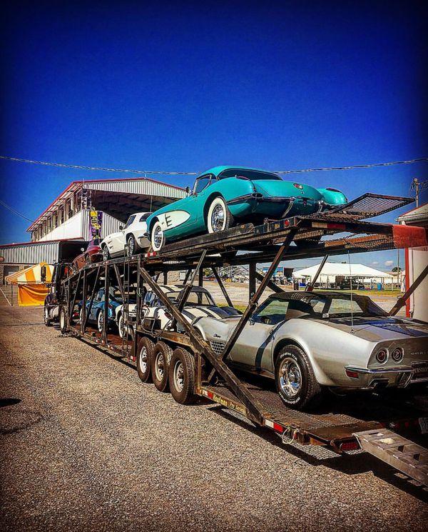 6 Cars Hauler Kaufman Trailer (Double Deck Max 6cars)