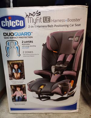 Chicco Myfit LE Harness + Booster Car Seat NIB for Sale in Monroe, WA