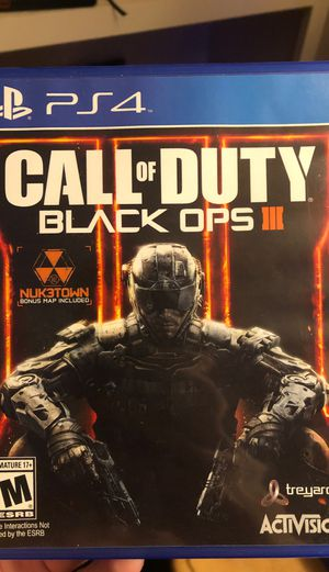 CoD BO3 PS4 for Sale in Jackson, MS