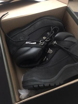 All Black Kids Timberland Boots for Sale in Hapeville, GA