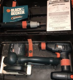 Black & Decker versus a pack system for Sale in Council Bluffs, IA