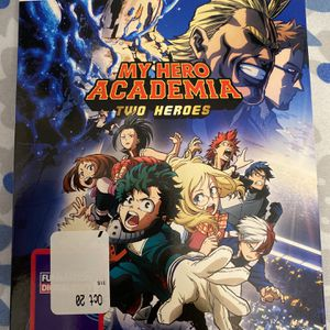 My Hero Academia: Two Heroes (BLU-RAY +DVD + DIGITAL) W/ SLIP COVER NEW for Sale in Buffalo, NY