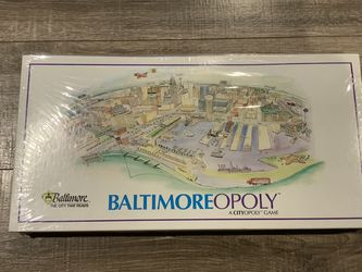 Baltimoreopoly Monopoly Game New Sealed for Sale in Glen Burnie,  MD