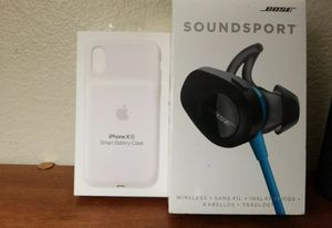 Bose soundsport,iphone XR Case for Sale in Inglewood, CA