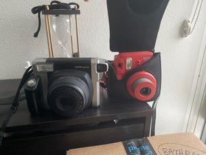 TWO Polaroid cameras w/ film for Sale in WA, US