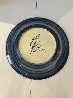 Hand painted serving platter for Sale in Alexandria, VA