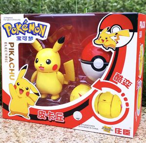 Pokemon Pikachu Action Figure Ball Transformation Robot Deformation Toy for Sale in West Covina, CA