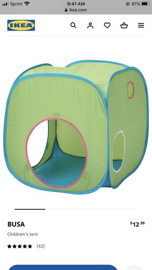 Kids play tent and tunnel for Sale in Reynoldsburg, OH