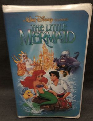 BRAND NEW, SEALED Disney The Little Mermaid (VHS, 1989, Diamond Edition) Banned Cover Art Original for Sale in Yorba Linda, CA