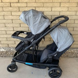 Graco Uno2Duo Double Stroller Or Single for Sale in Glendale, AZ