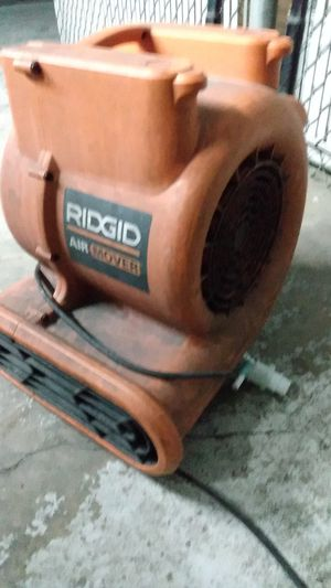 Ridgid air mover for Sale in Seattle, WA