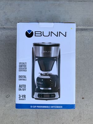 BUNN 10-Cup Programmable Coffeemaker Heat N' Brew for Sale in Chino Hills, CA