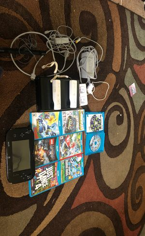 Wii U all hardware included for Sale in Berwyn Heights, MD