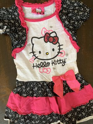 Hello Kitty Girls Toddler Dress! Size 2T for Sale in Chino Hills, CA