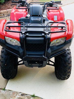2016 Honda 420 Rancher EFI Four Wheeler for Sale in Mount Selman, TX