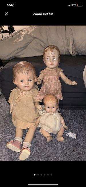 Antique dolls for Sale in Sanatoga, PA