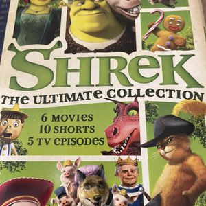 Shrek DreamWorks All 6 Movies And More! for Sale in Houston, TX