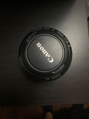 Canon 50mm 1.8 ii w/ UV filter for Sale in Artesia, CA