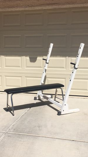 Stand Alone Weight Bench and Stand for Sale in Las Vegas, NV