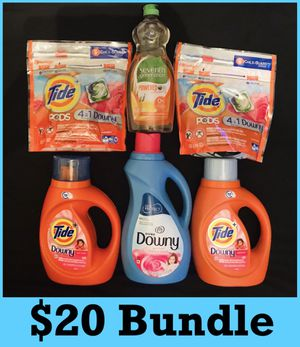 Tide downy seventh generation $20 bundle for Sale in Los Angeles, CA