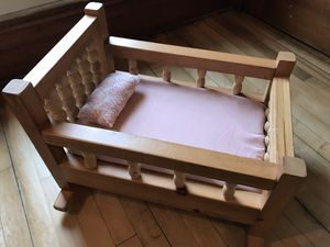 Baby doll cradle for bitty baby for Sale in Burnett, WI