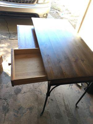 Antique wooden desk for Sale in Phoenix, AZ