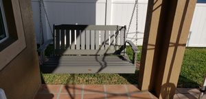"""52"""".vinyl porch swing 6 months old for Sale in NEW PRT RCHY, FL"""