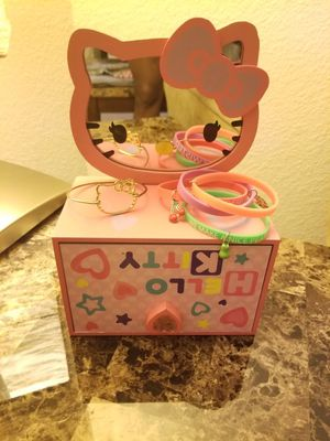 Hello Kitty Jewelry Box & other items for Sale in Laurel, MD