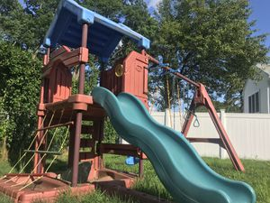 Swing set must disassemble your self for Sale in Providence, RI