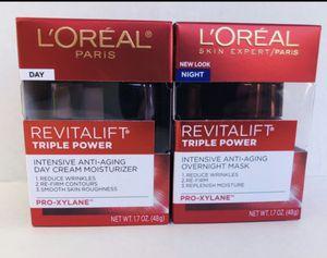 L'Oréal Revitalift triple power day & night set 2 piezas for Sale in Miami, FL