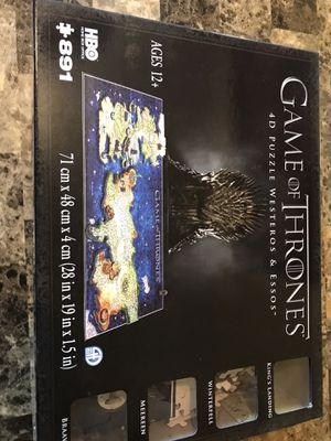 GOT puzzle for Sale in Columbus, OH