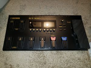 Boss GT100 effects processor for Sale in St. Louis, MO