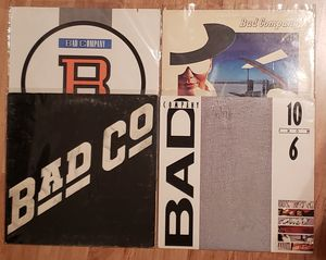 Vinyl Record Lot - 4 Bad Company Albums for Sale in Murphy, TX