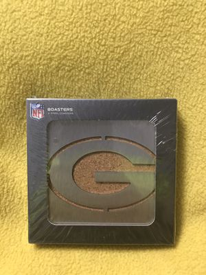 NFL Green Bay Packers Stainless Steel Boasters - 4 Pack for Sale in Sioux Falls, SD